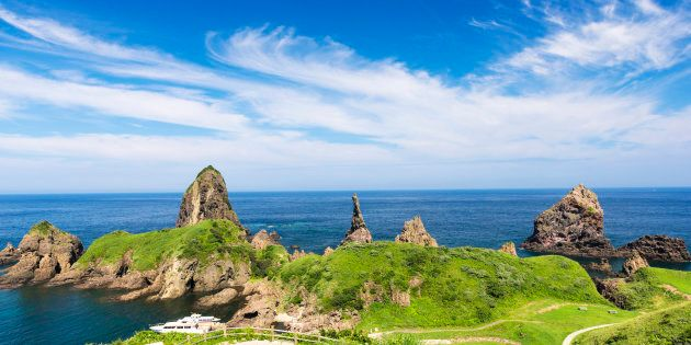 Japan, Shimane Prefecture, Oki District, View of Oki Islands (Photo by: JTB Photo/UIG via Getty