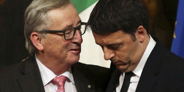 Bruxelles gela il piano di Renzi: