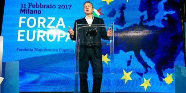 Forza Europa, Monti, Rutelli e Bonino a Milano con Della