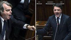 Renzi allo scontro con Brunetta: