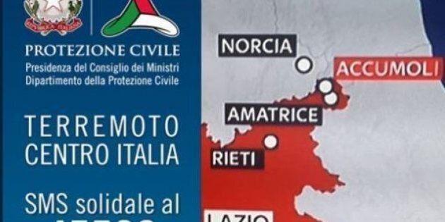 Terremoto, raccolti con sms solidale 45500 oltre 9 milioni di euro. Sarà Comitato di garanti a decidere...
