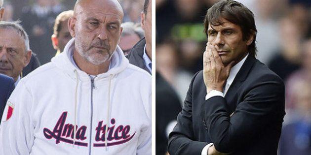 Antonio Conte telefona al sindaco di Amatrice Sergio Pirozzi. Che gli chiede palloni e magliette del