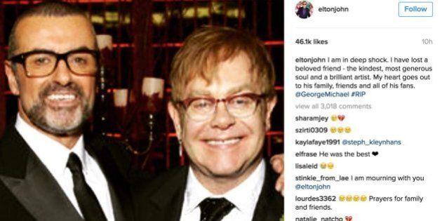 George Michael morto, da Madonna a Elton John: gli omaggi degli artisti sui social alla popstar