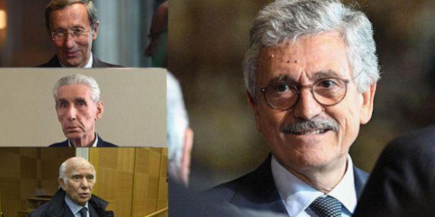 Da Gianfranco Fini a Paolo Cirino Pomicino: ecco chi sosterrà il fronte trasversale di D'Alema per il...