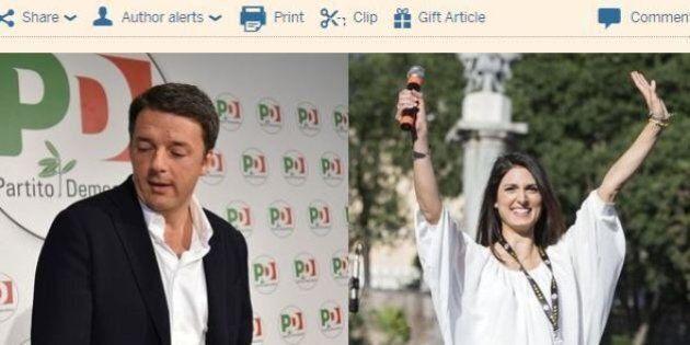 Matteo Renzi castigato alle amministrative. Per il Financial Times
