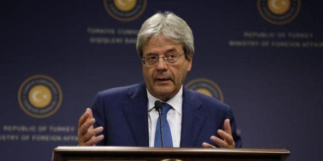 Gentiloni, Ayrault, Steinmeier, vertice a tre sulla Libia: