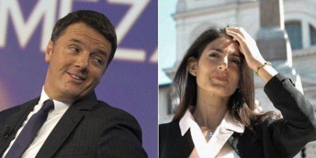 Scintille tra Matteo Renzi e Virginia Raggi sulle Olimpiadi. La sindaca: