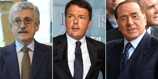 La tenaglia di Silvio Berlusconi e Massimo D'Alema ha fatto saltare il Patto del Nazareno. Lo scrive...