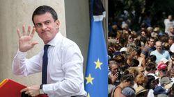 Valls fischiato alla cerimonia per le vittime di