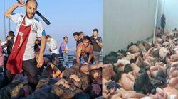 Soldati nudi nelle stalle e violenti linciaggi: le foto della repressione in