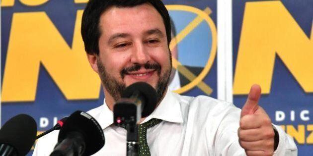 Matteo Salvini chiude la porta all'alleanza con Grillo: