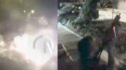 Scene di guerra ad Ankara: gli elicotteri attaccano la sede