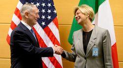 Il ministro Pinotti agli Usa: