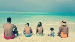 Questa foto di Totti (e famiglia) dalle Maldive è la risposta a un