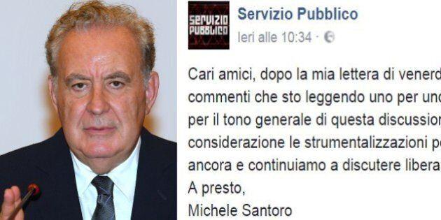 Referendum, Michele Santoro critica il fronte del No. Attacchi e attestazioni di stima su