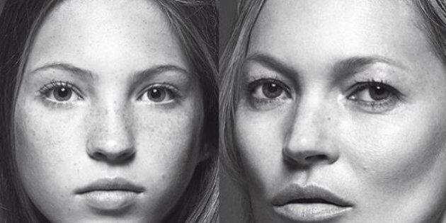 Lila Grace posa tra le braccia della mamma Kate Moss per la copertina di Vogue