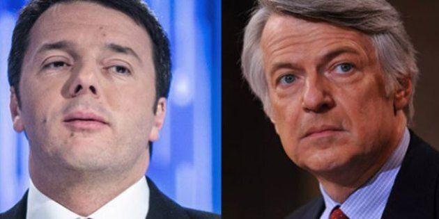 Matteo Renzi contro Ferruccio De Bortoli: