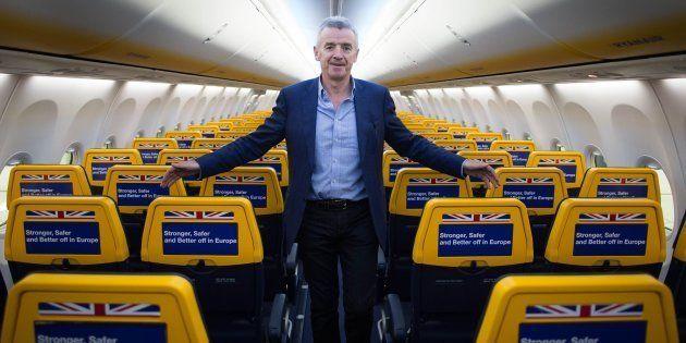 Ryanair pronta a sospendere i voli tra la Ue e il Regno Unito dopo