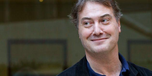 ROME, ITALY - NOVEMBER 19: Actor Corrado Guzzanti attends 'Ogni Maledetto Natale' photocall at Hotel...