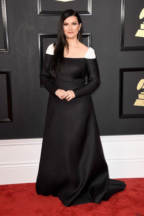 Nessun Grammy per la Pausini, ma è tra le meglio vestite per