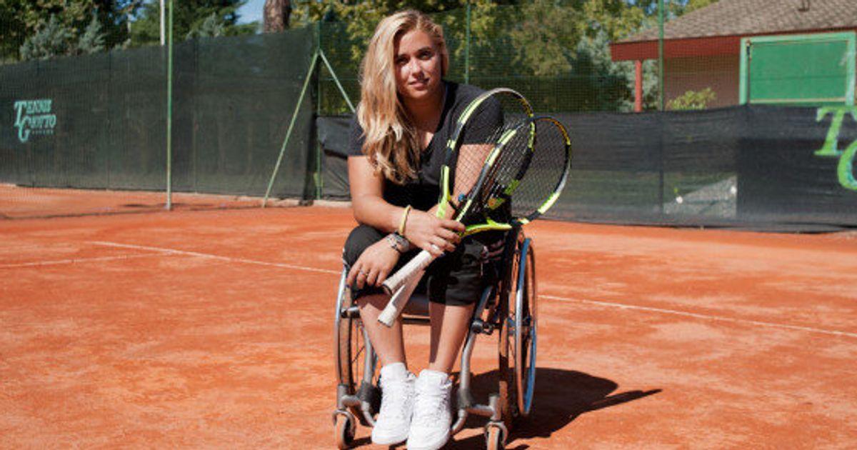 Giulia Capocci è la promessa italiana del tennis paralimpico