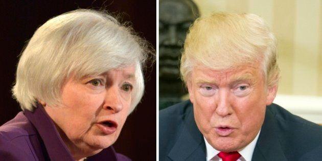 Janet Yellen non cede a Donald Trump: