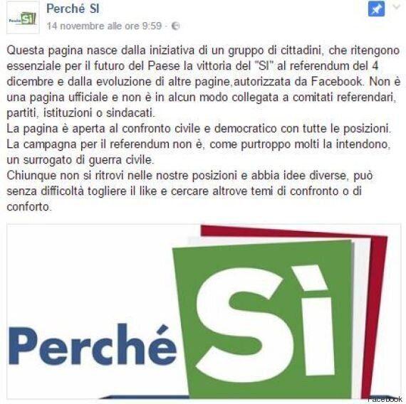 Referendum, su Facebook utenti iscritti a loro insaputa alla pagina
