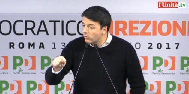 #DirezionePd, Matteo Renzi perde consenso sul