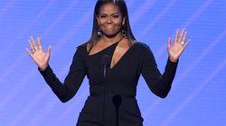 L'accoglienza a Michelle nell'ultima apparizione televisiva dimostra che l'unica first lady è