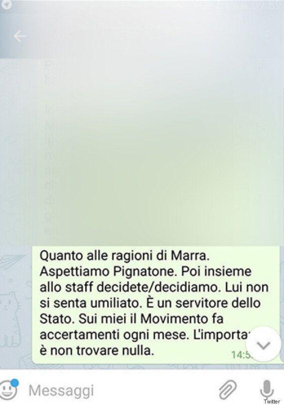 La chat integrale tra Luigi Di Maio e Virginia Raggi su Raffaele Marra