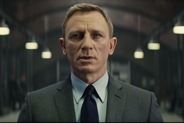 Daniel Craig in the 24th James Bond film
