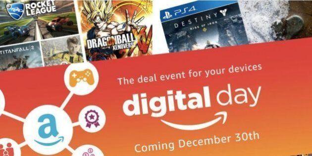 Amazon Digital Day, il 30 dicembre prodotti digitali a prezzi scontati. La nuova giornata di sconti da...