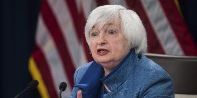 Janet Yellen, numero uno della Fed, avverte: