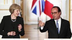 Freddezza e pressing sulla Brexit: Hollande accoglie così la May a