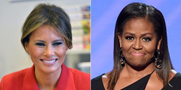 La differenza tra Michelle Obama e Melania Trump è riassunta in un solo