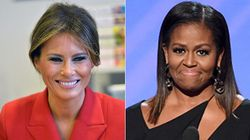 La differenza tra Michelle Obama e Melania Trump è riassunta in un solo