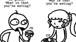 Queste illustrazioni (di un vegano) spiegano perché è sbagliato giustificare gli abusi sugli