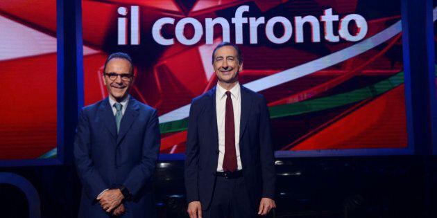 Confronto tv su Skytg24 tra Giuseppe Sala e Stefano Parisi. L'ex manager Expo: