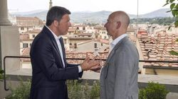 Renzi pranza con il Ceo di Amazon: