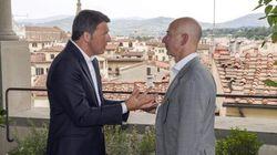 Matteo Renzi pranza con il Ceo di Amazon Jeff Bezos: