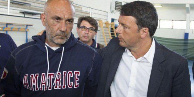 Matteo Renzi sulla ricostruzione post-terremoto: