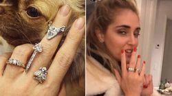Fedez ha regalato alla Ferragni lo stesso anello di fidanzamento dato alla
