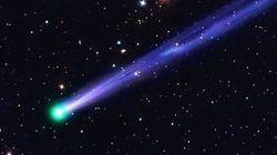 Alzate gli occhi al cielo nella notte di Capodanno: una cometa si