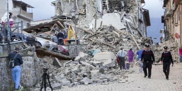Terremoto, rapporto Italia all'Ue: