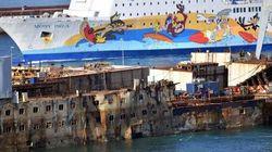 L'ultimo viaggio della Concordia: la demolizione nel porto di