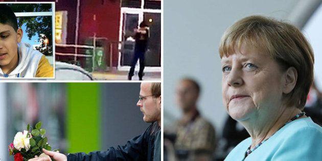 Attentato Monaco, Angela Merkel: