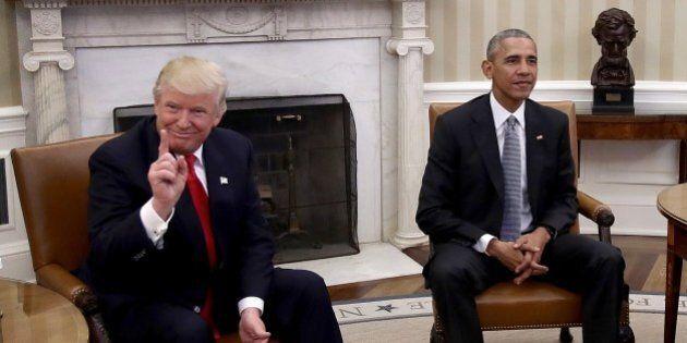 Donald Trump organizza la festa di Capodanno e fa gli auguri (al veleno) al