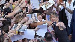 Aniston ai ragazzi del Giffoni: