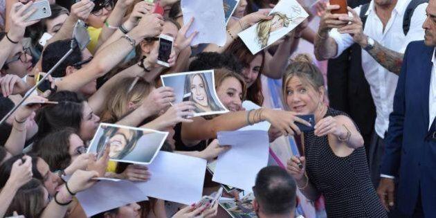 Jennifer Aniston ai ragazzi del Giffoni: