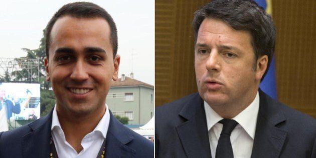 Luigi Di Maio contro Matteo Renzi: